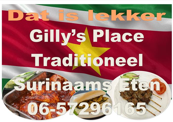 GILLY'S TRADIONAL SURINAM FOOD
